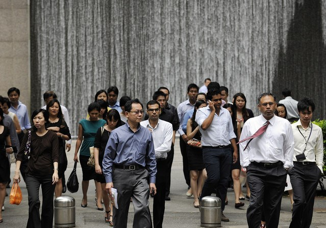 Singaporeans, worried over jobs and pay, are the gloomiest since 2009
