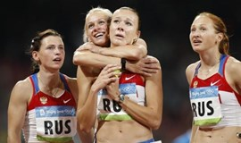Russia stripped of 2008 relay gold due to positive retest