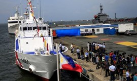 Philippines gets first coastguard boat from Japan to boost security