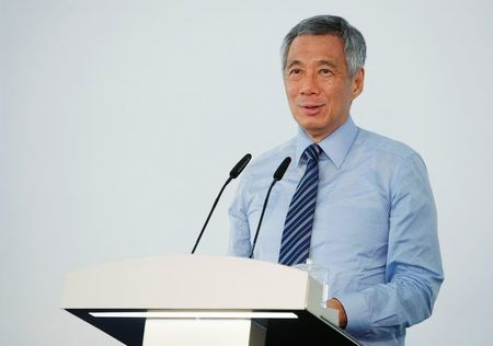 Singapore's Prime Minister Lee Hsien Loong speaks in Singapore September 2, 2014. Lee has been diagnosed with prostate cancer and will undergo surgery to remove his prostate gland on Monday, his office said on February 15, 2015. Picture taken September 2, 2014.
