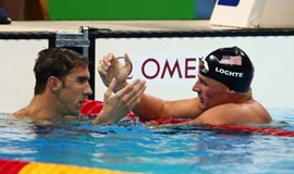 Swimming: U.S. team mates stand out for right and wrong reasons
