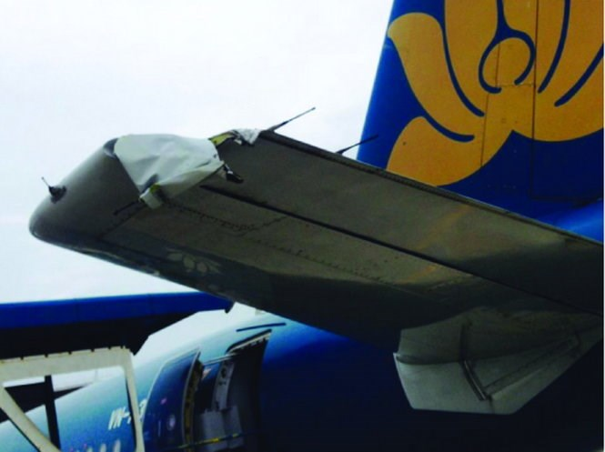 Tailplane damage causes Vietnam Airlines to cancel flight