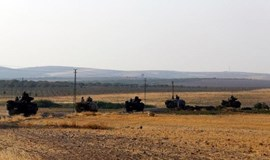 Turkish army thrusts deeper into Syria, monitors say 35 villagers killed