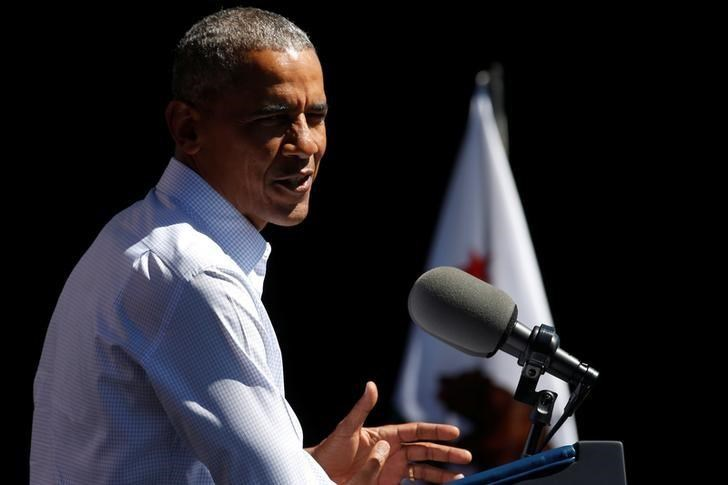 U.S. President Barack Obama delivers remarks on the environment and climate change at the 20th Annual Lake Tahoe Summit at Harvey's in Stateline, Nevada, U.S. August 31, 2016.