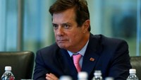 Paul Manafort of Republican presidential nominee Donald Trump's staff listens during a round table discussion on security at Trump Tower in the Manhattan borough of New York, U.S., August 17, 2016. Picture taken August 17, 2016.