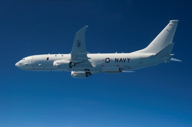 P-8A Poseidon. US Navy Photo