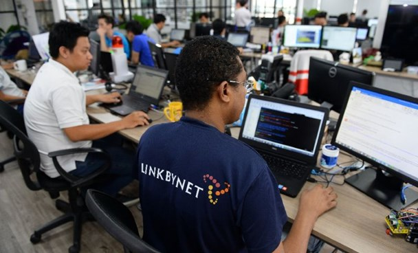 Vietnam's start-up sector has caught the eye of foreign companies including the French tech firm Linkbynet which has an office in Ho Chi Minh City