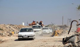 Syrian army secures road to Aleppo: state TV