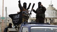 File photo: Al-Nusra Front fighters in Idlib, Syria