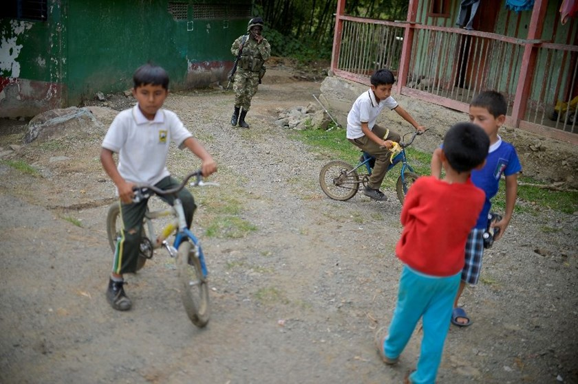 In the past 14 years, about 4,500 minors from rebel groups have been demobilized, with 65 percent of them belonging to the FARC, according to official data