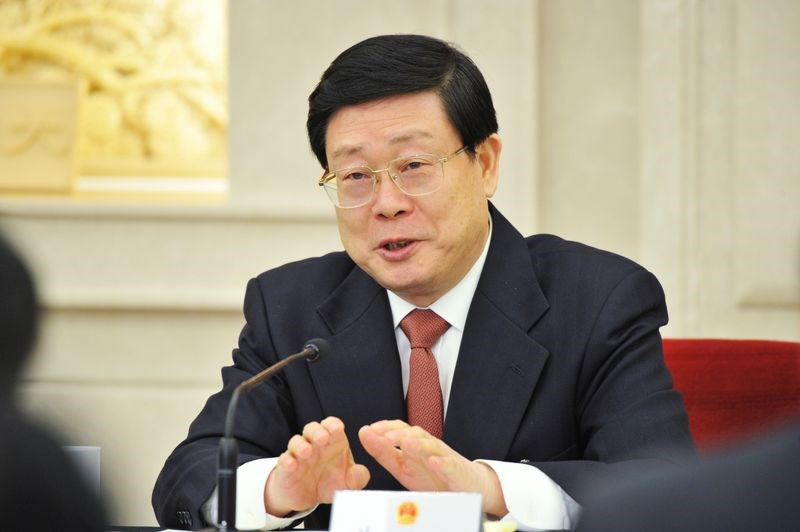 Tianjin Mayor Huang Xingguo. Photographer: VCG via Getty Images