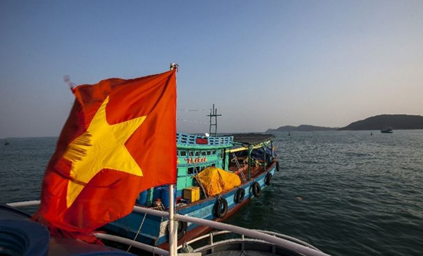 The men were accused by Vietnamese oficials of hijacking the Malaysia MT Orkim Harmony oil tanker