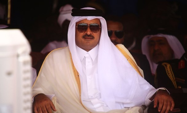 Qatari emir Sheikh Tamim bin Hamad al-Thani telephoned Iran President Hassan Rouhani against the backdrop of tensions between Tehran and Riyadh