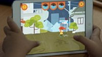 'Flood fighter' game teaches Asian kids survival tips