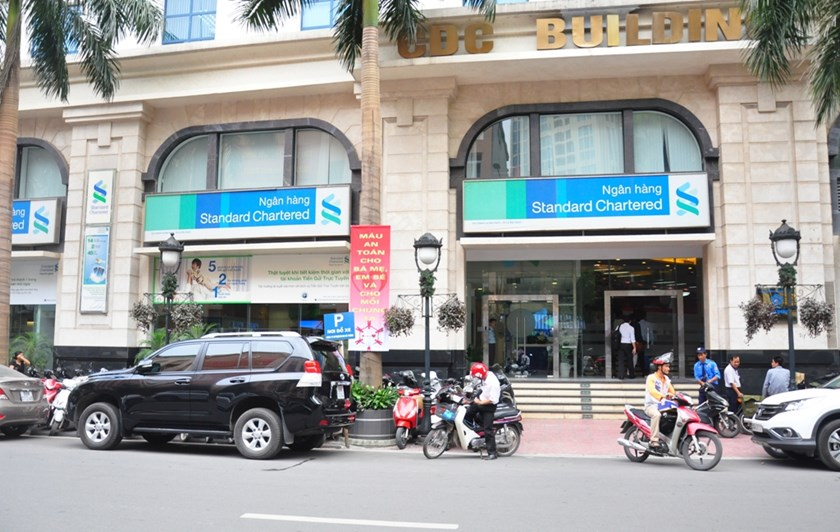 A Standard Chartered Bank (Vietnam) office on Le Dai Hanh Street, Hanoi. Photo credit: Standard Chartered Vietnam
