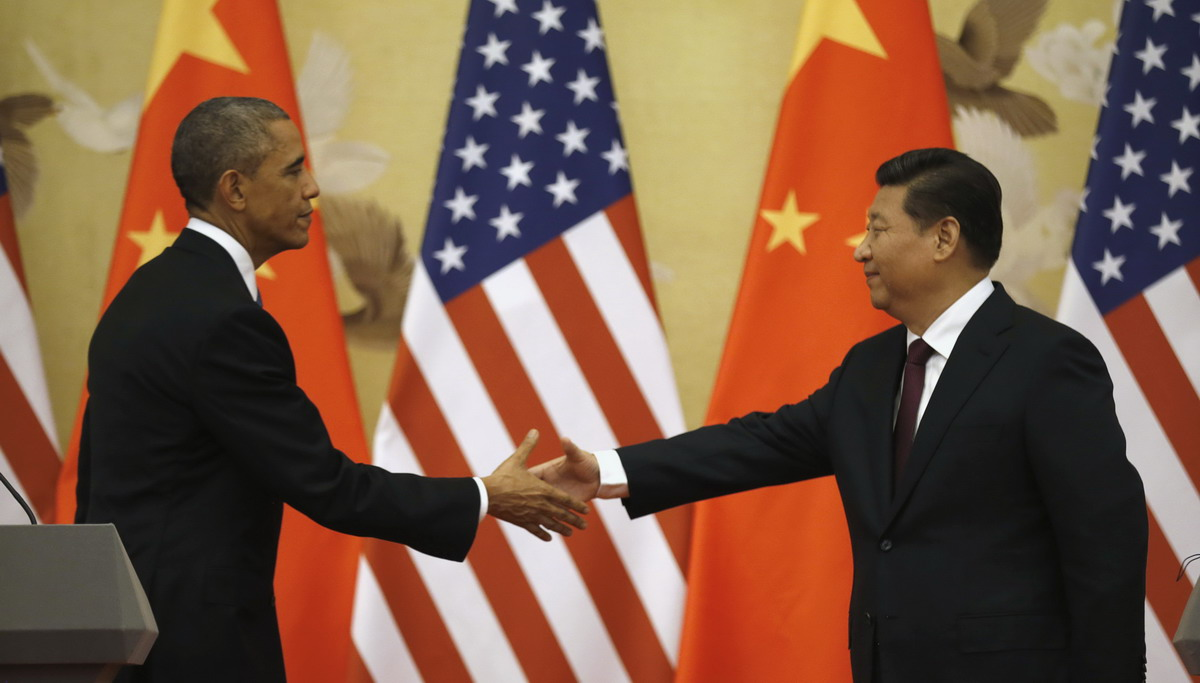 US, China sign symbolic emissions plan, play down rivalry