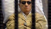 Egypt's high court on Tuesday overturned the only remaining conviction against former president Hosni Mubara. Photo AFPk