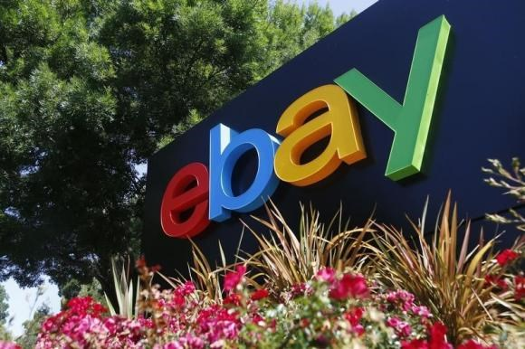 An eBay sign is seen at an office building in San Jose, California May 28, 2014. Photo: Reuters