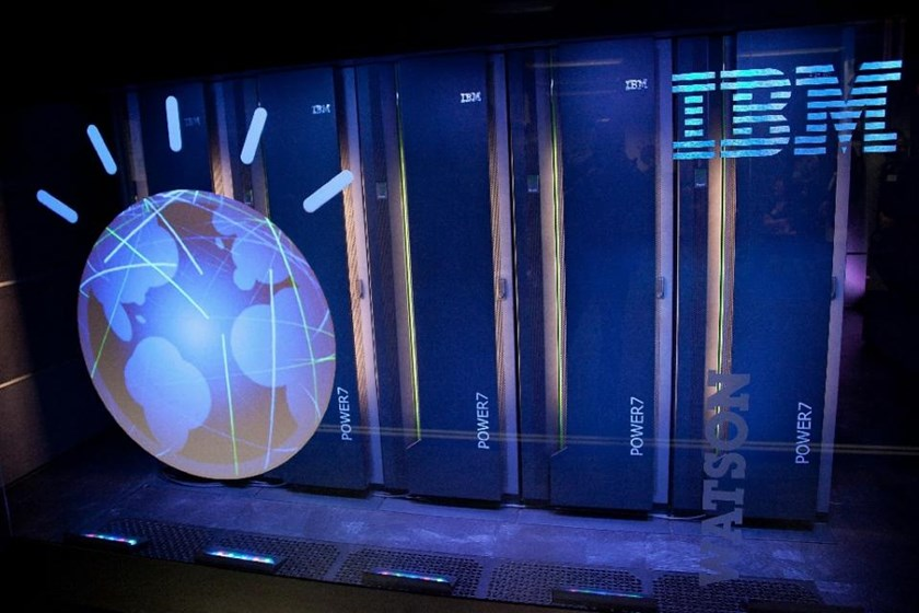 IBM is collaborating with Apple, Medtronic, and Johnson & Johnson to use its Watson artificial intelligence system to give users insights and advice from personal health information. Photo: AFP /Ben Hider