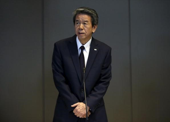 Toshiba Corp President and Chief Executive Officer Hisao Tanaka attends a news conference at the company headquarters in Tokyo July 21, 2015.Photo: Reuters/Toru Hanai