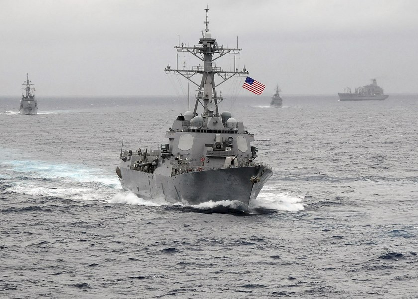 The US Navy guided-missile destroyer USS Lassen sails in the Pacific Ocean in a November 2009 photo provided by the U.S. Navy. Photo: Reuters/US Navy/CPO John Hageman
