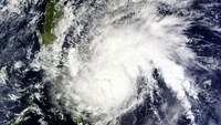 This December 14, 20115 NASA satellite image shows Typhoon Melor over the Philippines. AFP PHOTO / HANDOUT / NASA