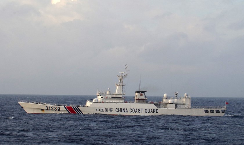China Coast Guard vessel No. 31239. Source: 11th Regional Coast Guard Headquarters-Japan Coast Guard