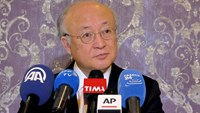 International Atomic Energy Agency (IAEA) Director General Yukiya Amano attends a news conference in Tehran, Iran January 18, 2016. Photo: Reuters/Raheb Homavandi/TIMA