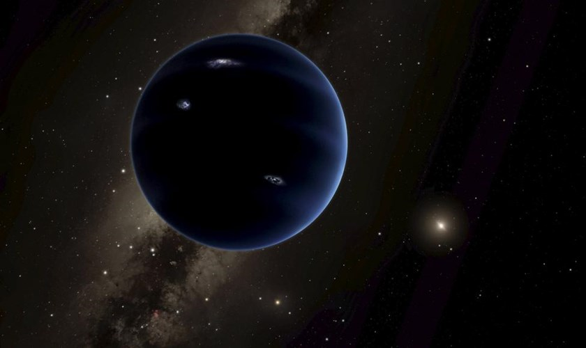 "An artist's rendering shows the distant view from ""Planet Nine"" back towards the sun, in this handout photo provided by the California Institute of Technology (Caltech) in Pasadena, California, January 20, 2016. Reuters/R. Hurt/Caltech/IPAC/Handout via Reuters"