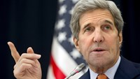 U.S. Secretary of State John Kerry is shown in a photo taken in Riyadh, Saudi Arabia, Saturday, January 23, 2016. The US Kerry is paying an official visit to Laos before heading to Cambodia on Monday night and then on to Beijing for talks on Wednesday with the leadership there. Photo: Reuters/Jacquelyn Martin/Pool