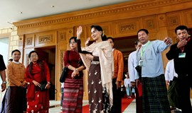 Suu Kyi allies to form Myanmar ruling party after decades of struggle
