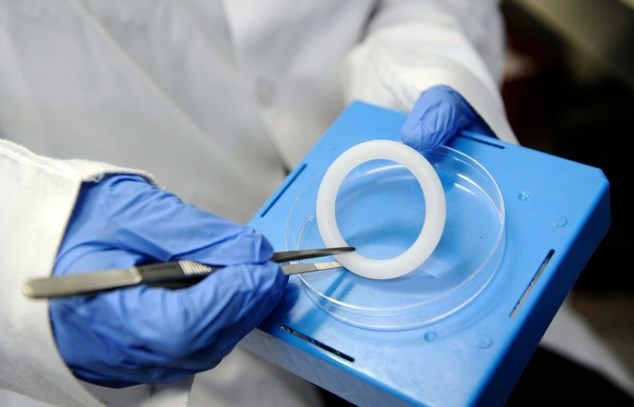 A monthly vaginal ring that contains an anti-retroviral drug has been shown to cut the risk of HIV infection in women by nearly one-third, according to two international studies. Photo: AFP/File