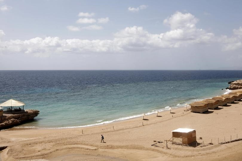 General view of a tourist village in Obock, Djibouti on Feb. 10, 2008.Photo: Jose Cendon/AFP/Getty Images