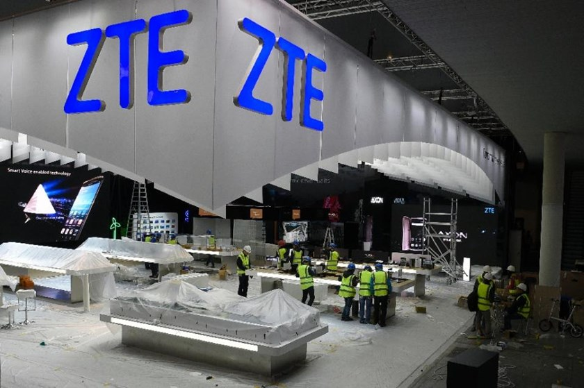 "The US Commerce Department said ZTE Corp. and related companies set up a scheme to circumvent sanctions and ""illicitly export"" controlled items to Iran, violating US laws: Photo: AFP/Lluis Gene"