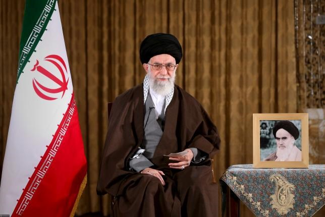Iran's Supreme Leader Ayatollah Ali Khamenei poses before delivering a speech marking Nowruz, Iranian new year, in this handout photo released by the Iranian Supreme Leader website on March 20, 2016. Photo: Reuters/LEADER.IR/HANDOUT