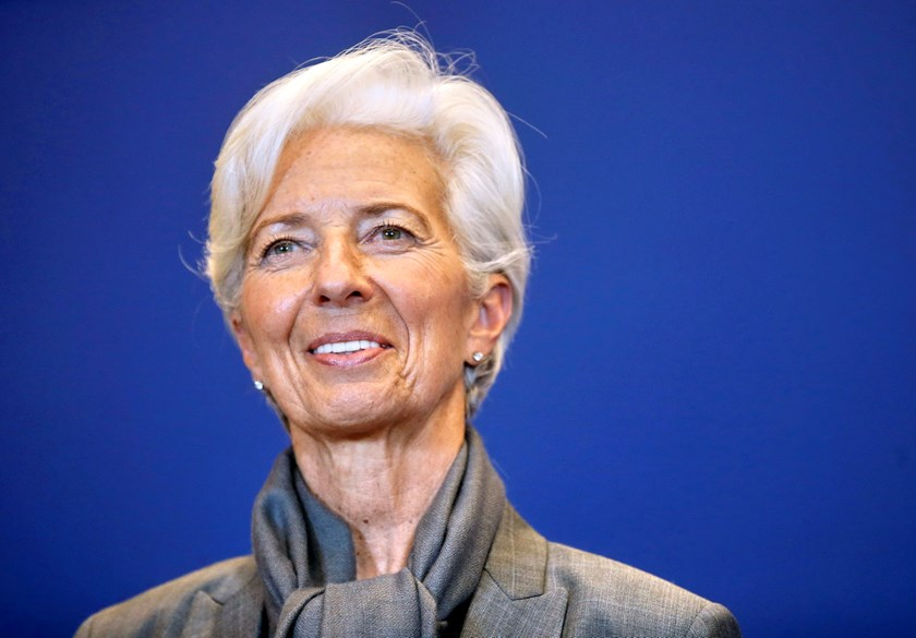 IMF Managing Director Christine Lagarde attends a news conference after a seminar on the international financial architecture in Paris, France, March 31, 2016. Photo: Reuters/Jacky Naegelen