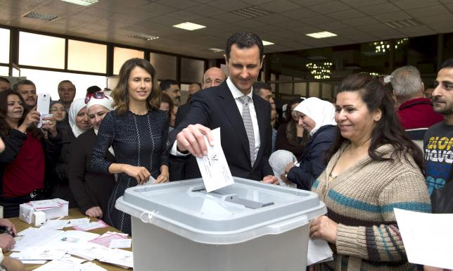 Syrians vote for parliament as diplomacy struggles