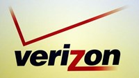 A Verizon logo is seen during the International CTIA WIRELESS Conference & Exposition in New Orleans, Louisiana May 9, 2012. Photo: Reuters/Sean Gardner/Files