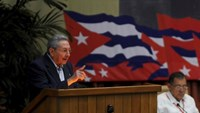 Cuba's President Raul Castro speaks during the opening ceremony of the seventh Cuban Communist Party (PCC) congress in Havana April 16, 2016. Photo: Reuters/Omara Garcia/AIN/Handout via Reuters