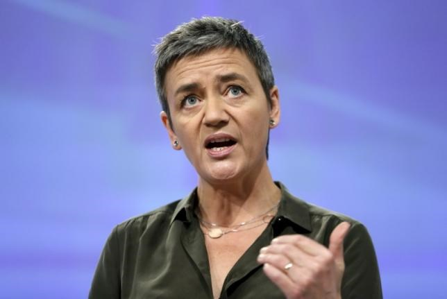 European Competition Commissioner Margrethe Vestager addresses a news conference in Brussels, Belgium, January 11, 2016. Photo: Reuters/Francois Lenoir