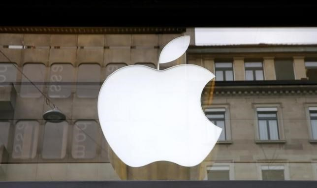 The logo of U.S. technology company Apple is seen in Zurich, Switzerland April 5, 2016. Photo: Reuters/Arnd Wiegmann