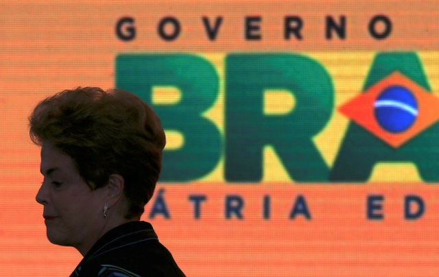 Brazil's President Dilma Rousseff attends the launching of the new Family Agriculture plan at Planalto Palace in Brasilia , Brazil, May 3, 2016. Photo: Reuters/Adriano Machado
