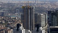 New skyscrapers under construction are pictured in Istanbul, Turkey April 10, 2015. Photo: Reuters/Murad Sezer