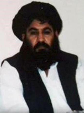 Taliban leader Mullah Akhtar Mohammad Mansour is seen in this undated handout photograph by the Taliban. Taliban Handout/Handout via Reuters/File Photo
