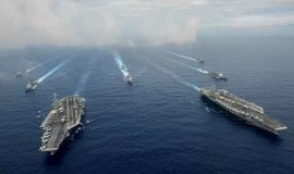 U.S. navy chief hopes carriers deter East Asia destabilization