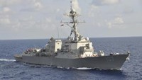 The Arleigh Burke-class guided-missile destroyer USS Gravely (DDG 107) is pictured underway during the multinational UNITAS Atlantic 53-2012 exercise conducted in the western Caribbean Sea in this September 25, 2012 handout photo. Photo: Reuters/ Lt. Cmdr. Corey Barker/U.S. Navy/Handout