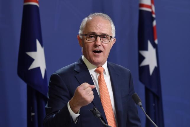 Australian Prime Minister Malcolm Turnbull speaks during a news conference in Sydney, Australia, July 10, 2016. Photo: AAP/Paul Miller//via Reuters
