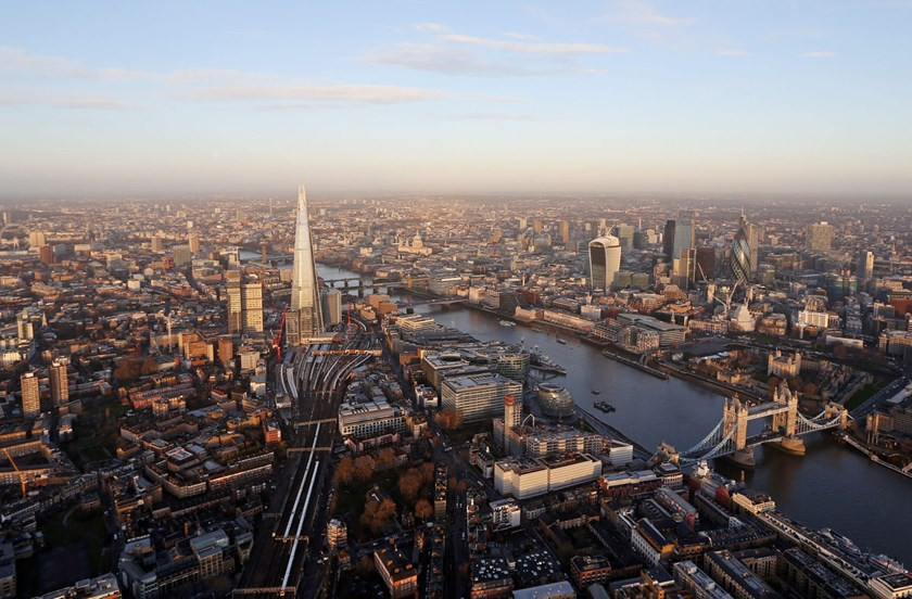 Investors pulling money from U.K. property funds out of fear that real estate values will fall are forcing sales of prime properties in London. Photo: Chris Ratcliffe/Bloomberg