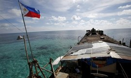 China asks U.S. to support resumption of talks with Philippines
