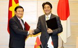 Vietnam, Japan up ties to strategic partnership